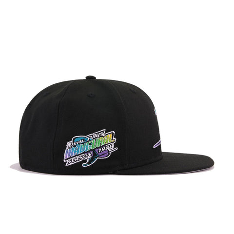 Tampa Bay Rays Black 1998 Inaugural Season New Era 9Fifty Snapback