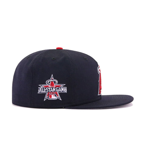 Los Angeles Angels Navy Cooperstown 2010 All Star Game New Era 59Fifty Fitted