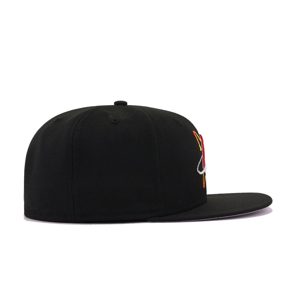 Albuquerque Isotopes Black New Era 59Fifty Fitted
