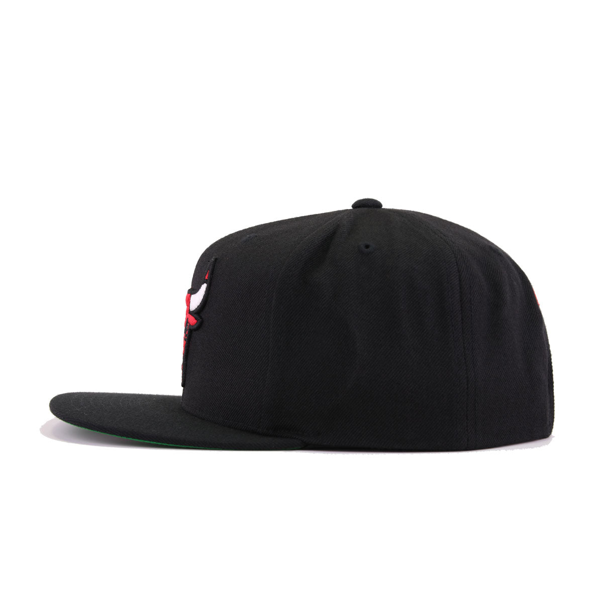 Chicago Bulls Black Mitchell and Ness Snapback