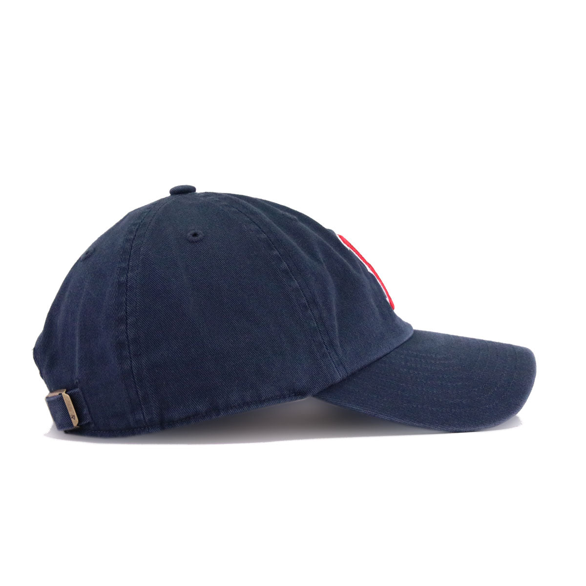 Boston Red Sox Navy 47 Brand Clean Up Dad Hat
