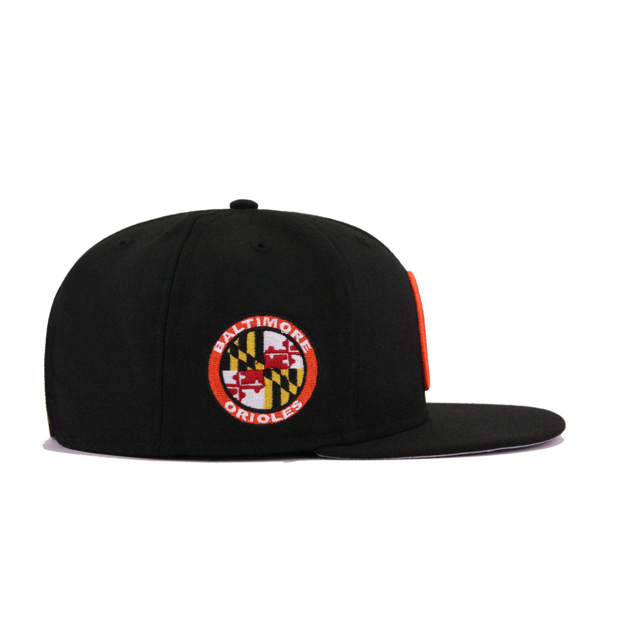 fcac3448e360df Baltimore Orioles Black Maryland State Flag New Era 9Fifty Snapback