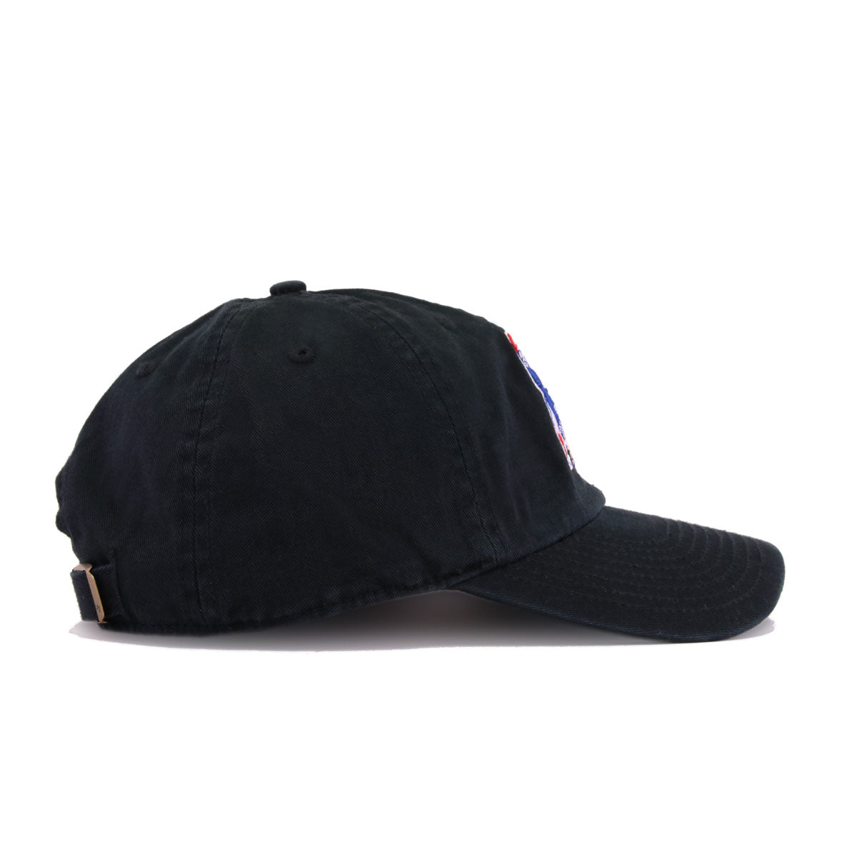 New England Patriots Legacy Black 47 Brand Clean Up Dad Hat