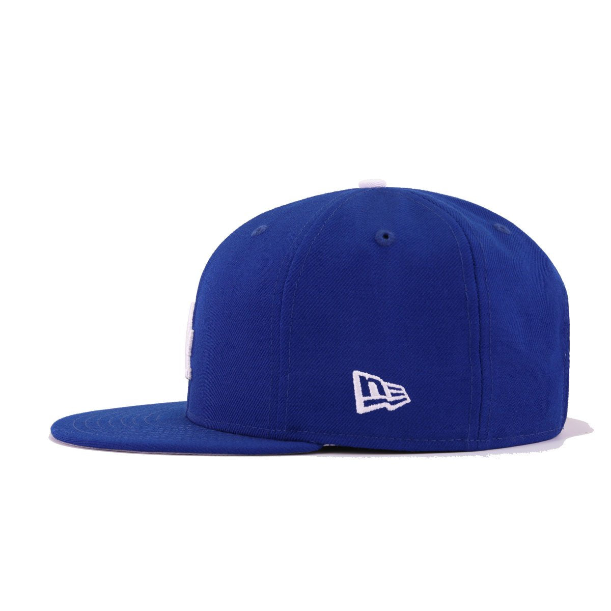 New Era Los Angeles Dodgers LA Anniversary Side Patch Snapback Hat Royal Blue