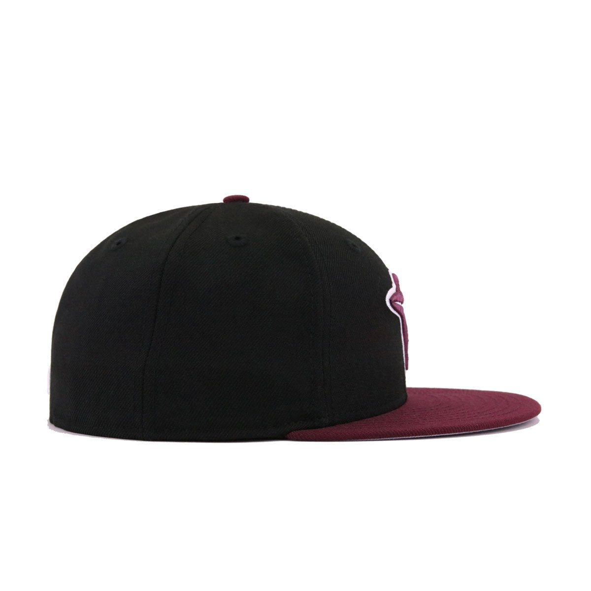 Toronto Blue Jays Black Maroon New Era 59Fifty Fitted