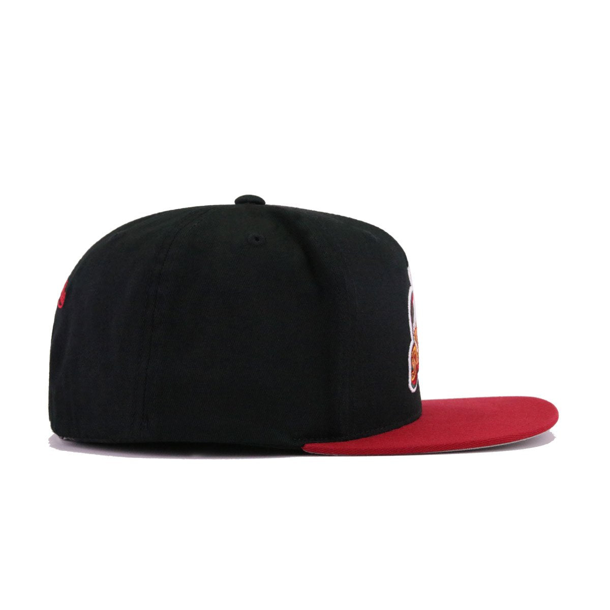 Seattle Supersonics Black Cardinal Red Hardwood Classics Mitchell and Ness Snapback