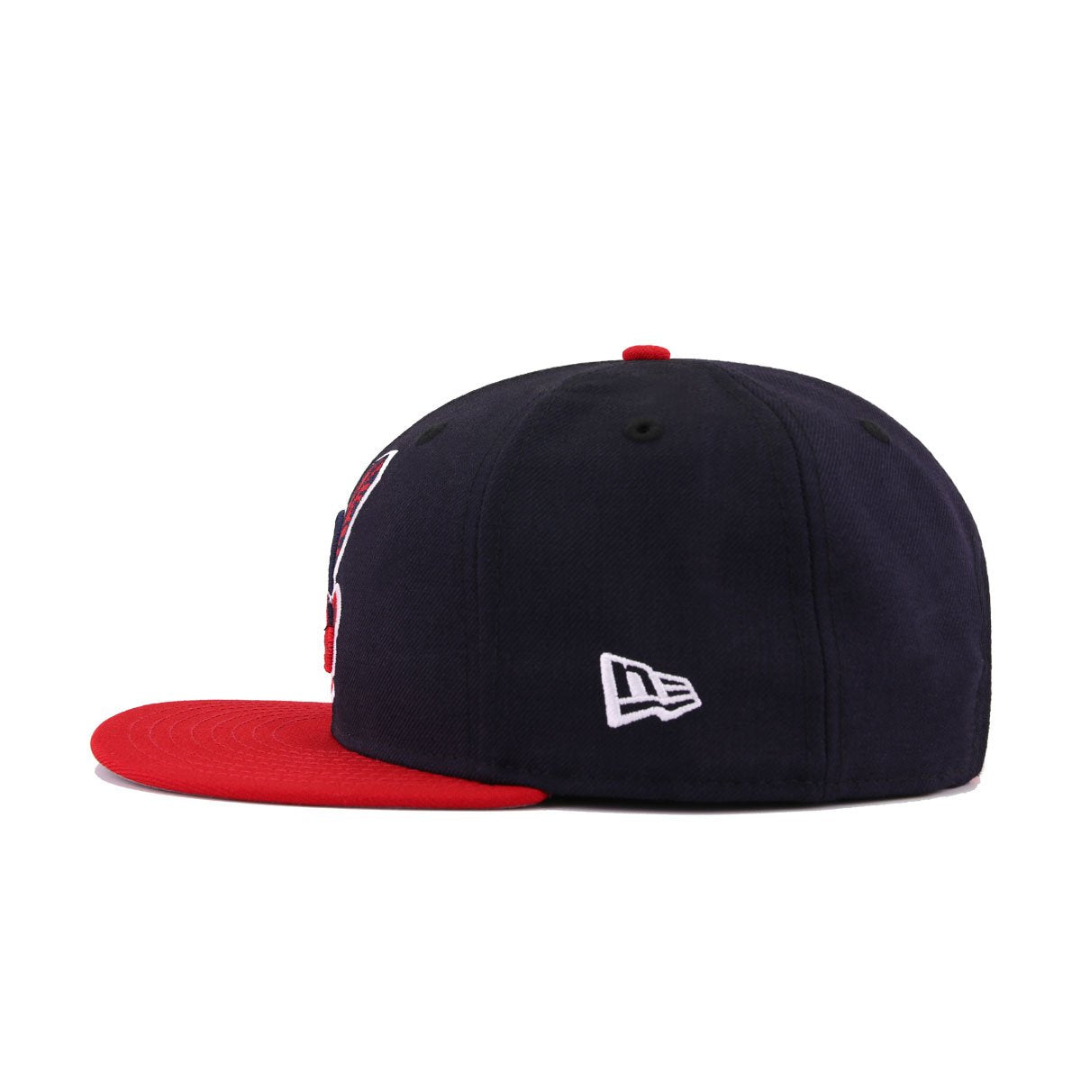 Cleveland Indians Navy Scarlet 1995 World Series New Era 9Fifty Snapback