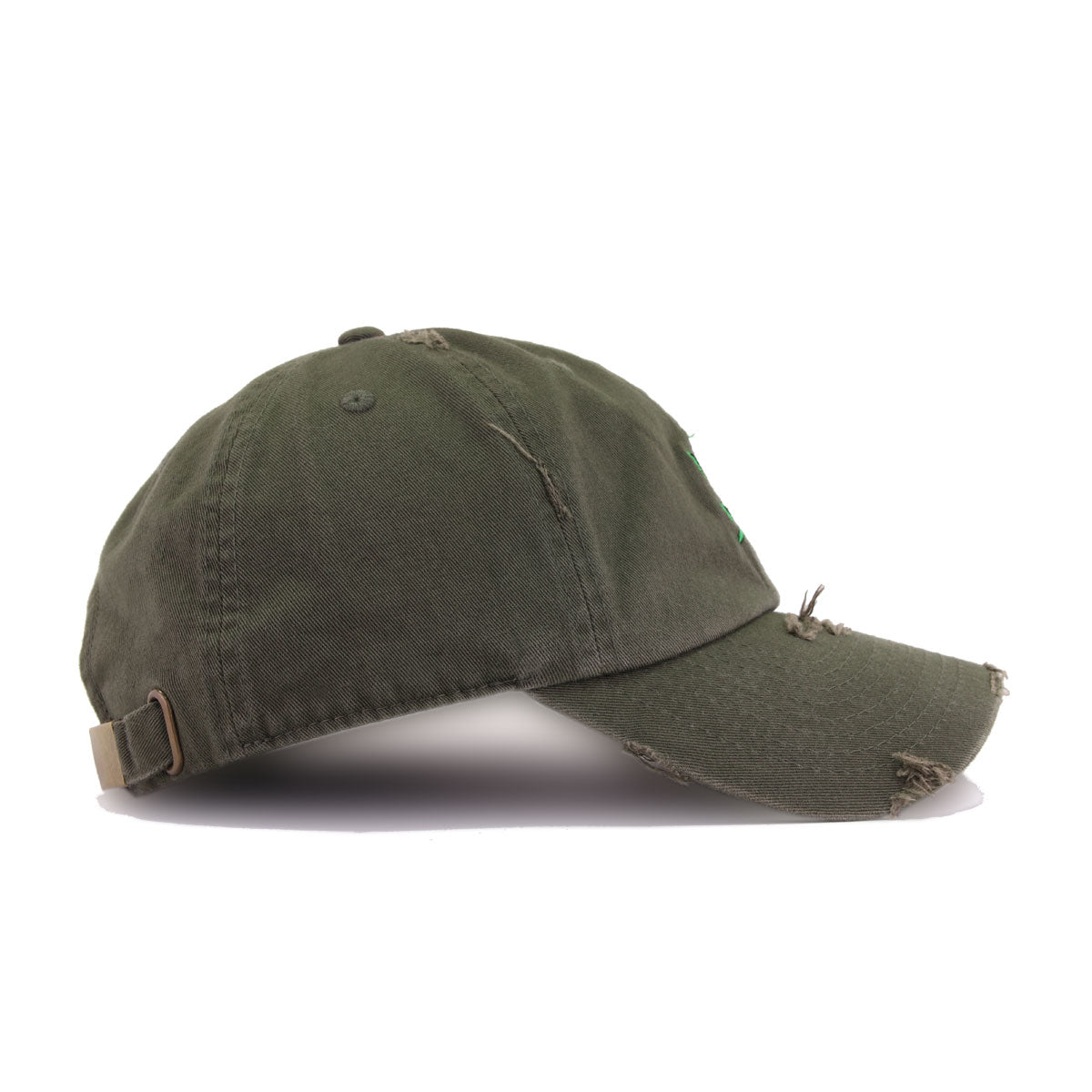 a309f6cc2 Distressed Rose Olive KBEthos Vintage Dad Hat