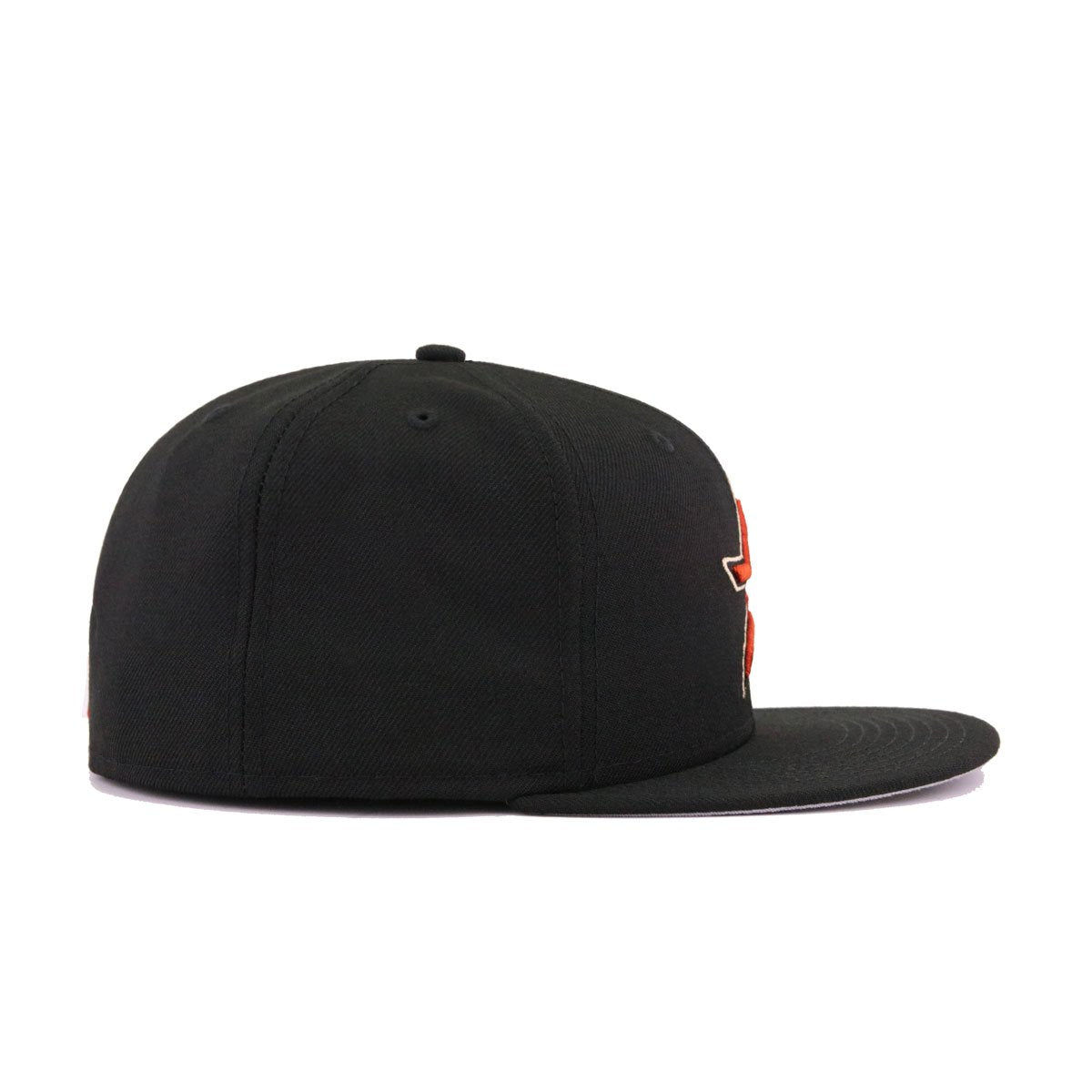 Houston Astros Black Cooperstown New Era 59Fifty Fitted