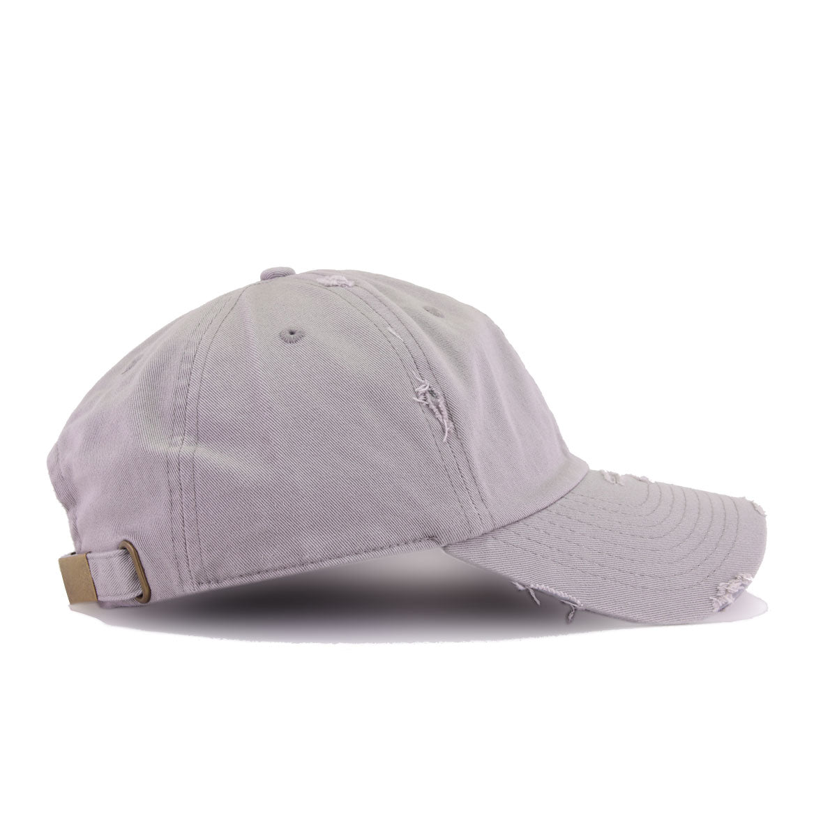 Distressed Light Grey KBEthos Vintage Dad Hat