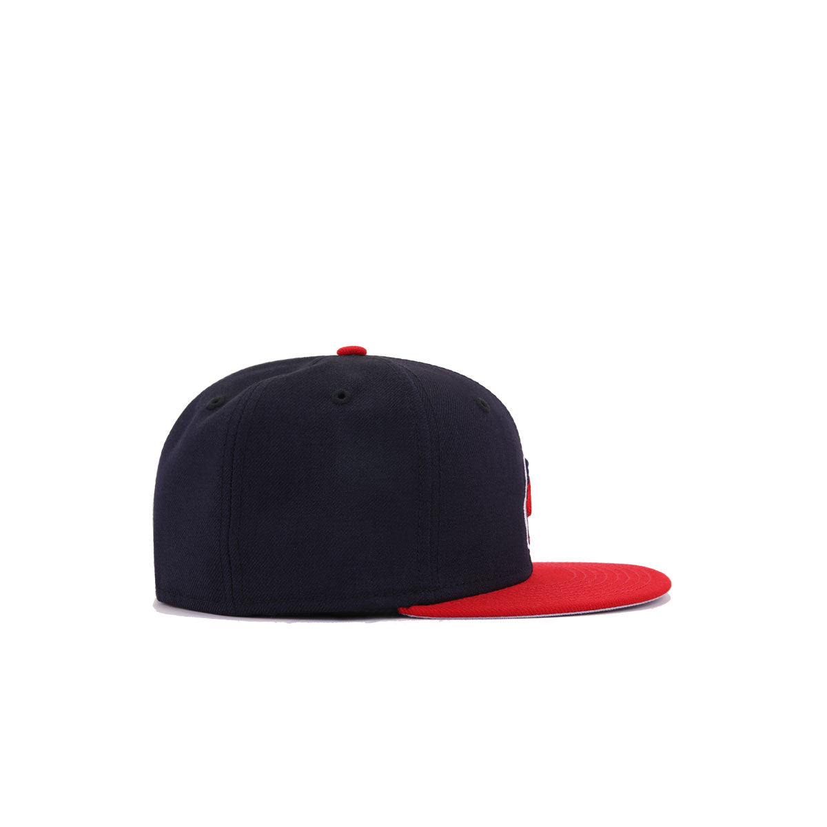KIDS Cleveland Indians Navy Scarlet Chief Wahoo New Era K59Fifty Fitted