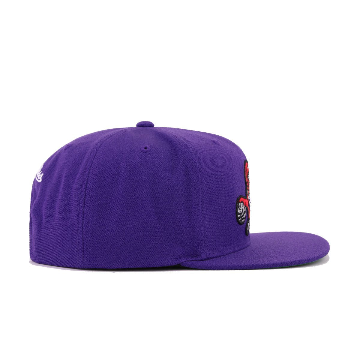 Toronto Raptors Deep Purple 2019 Hardwood Classic Mitchell and Ness Snapback