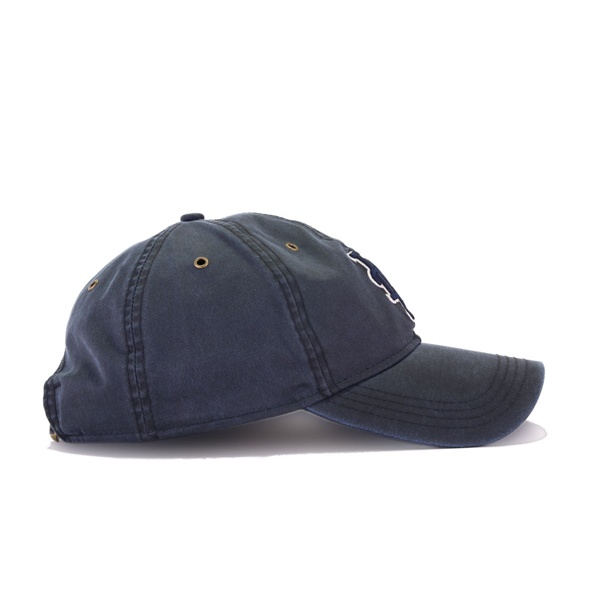New York Mets Black Label Waxed Navy Cotton New Era 9Twenty Dad Hat