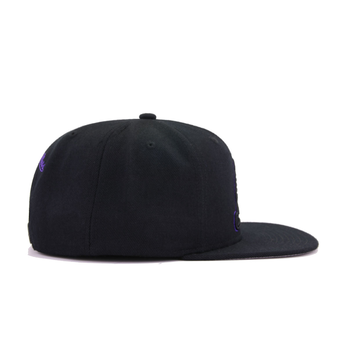 Los Angeles Lakers Black Alternate Mitchell and Ness Snapback