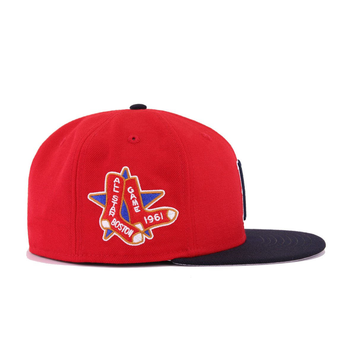 1d051fdabc1912 Boston Red Sox Scarlet Navy Cooperstown 1961 All Star Game New Era 59Fifty  Fitted