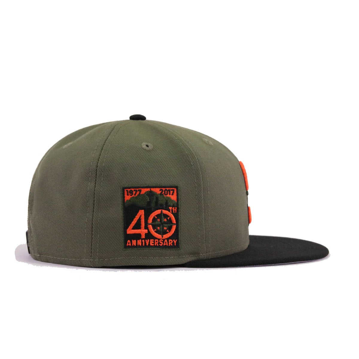 a6aa08607a152a Seattle Mariners New Olive Black Orangeade 40th Anniversary New Era 9Fifty  Snapback