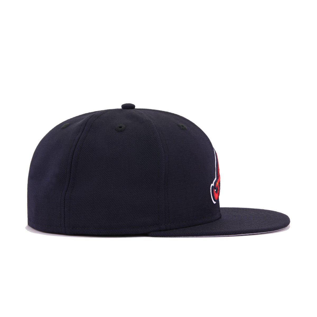 Atlanta Braves Navy Tomahawk New Era 59Fifty Fitted