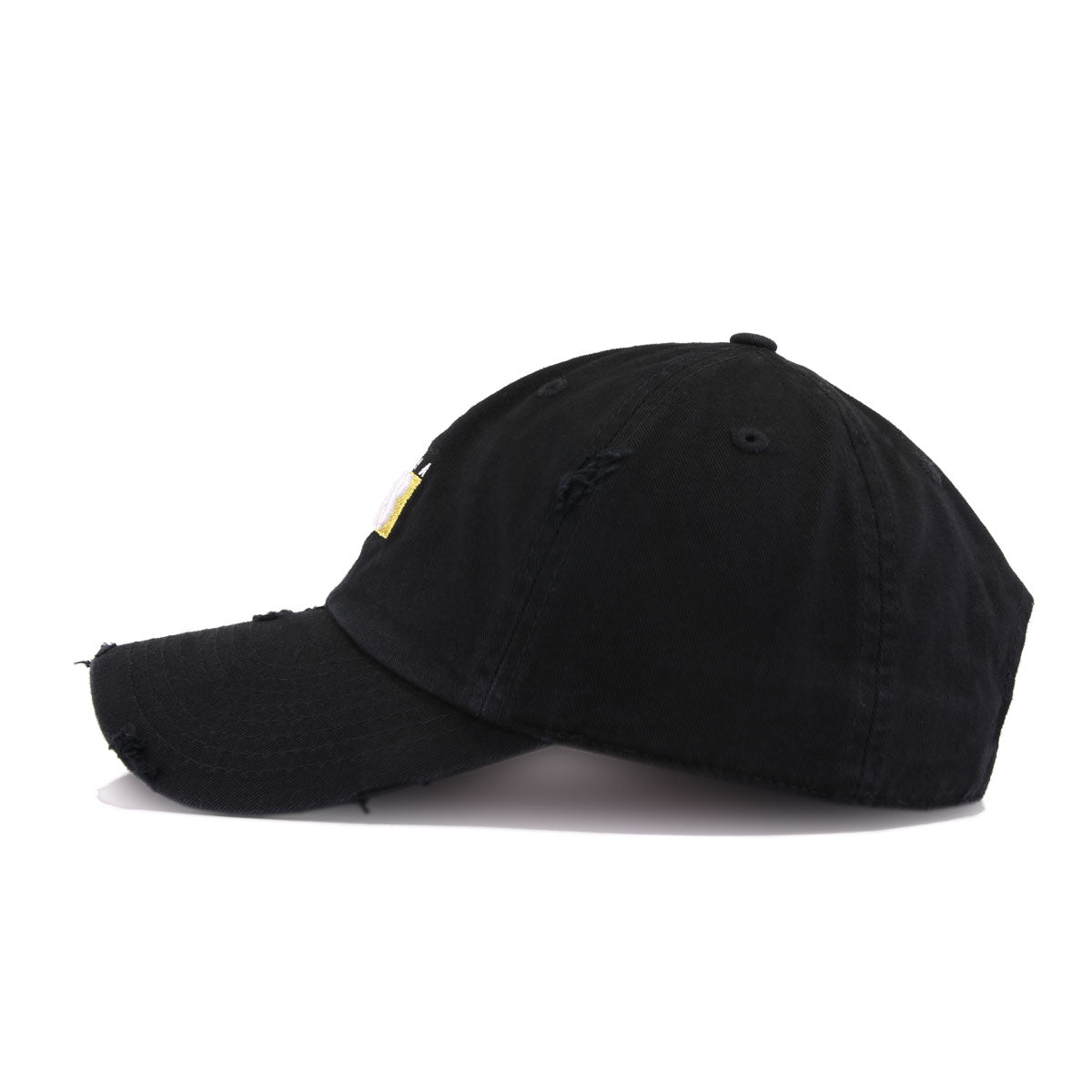 Distressed Like A Boss Black KBEthos Vintage Dad Hat