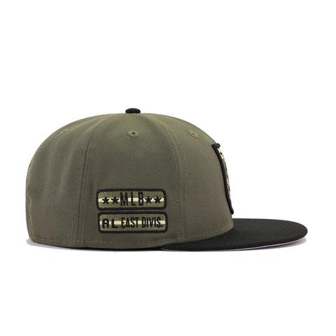 New York Yankees Armed Forces New Olive Black New Era 9Fifty Snapback
