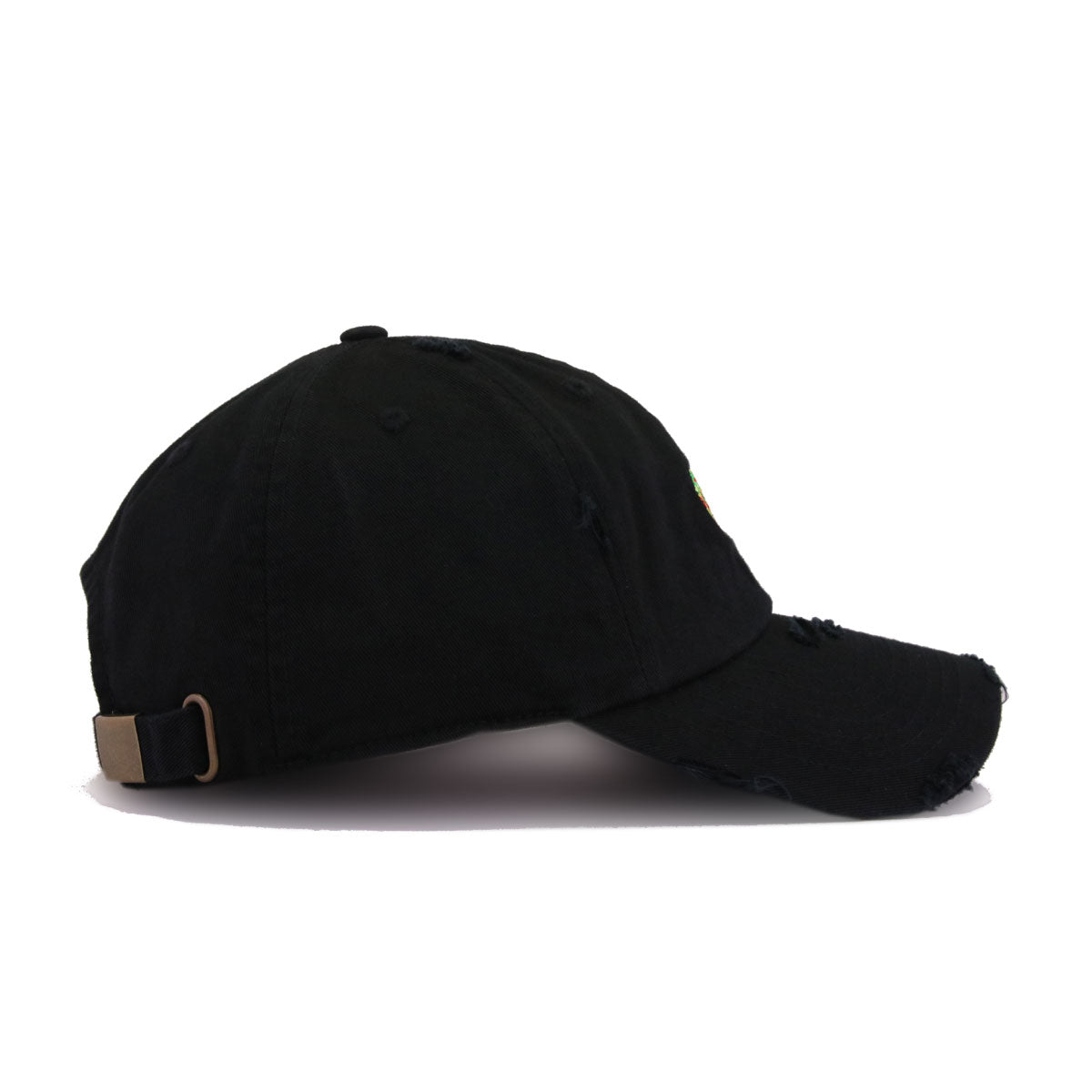 Distressed Taco and Beer Black KBEthos Vintage Dad Hat