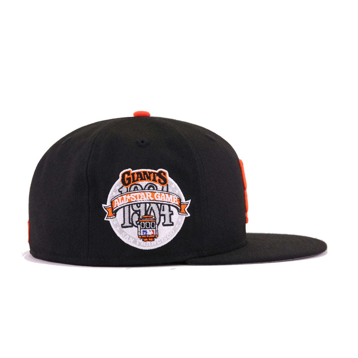 San Francisco Giants Black Grilled Orange 1984 All Star Game New Era 59Fifty Fitted