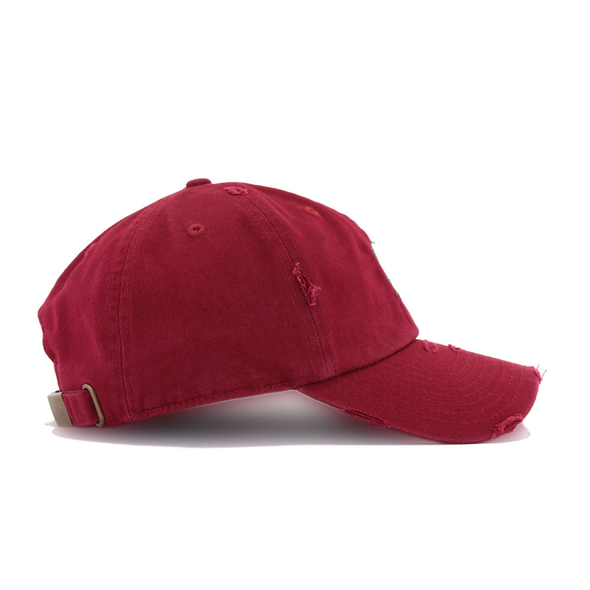 Distressed Rose Maroon KBEthos Vintage Dad Hat