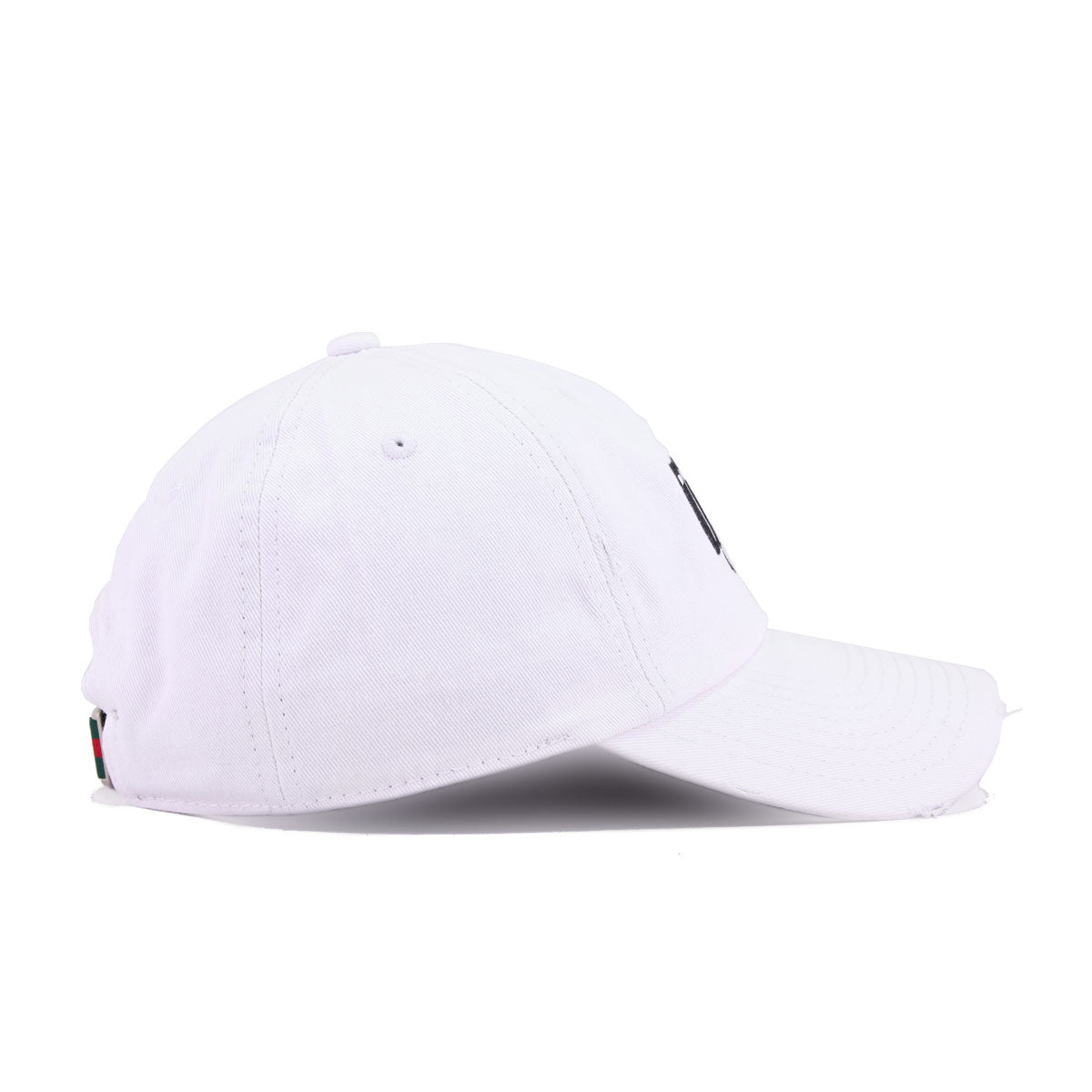 Money Bullet White Field Grade Distressed Dad Hat