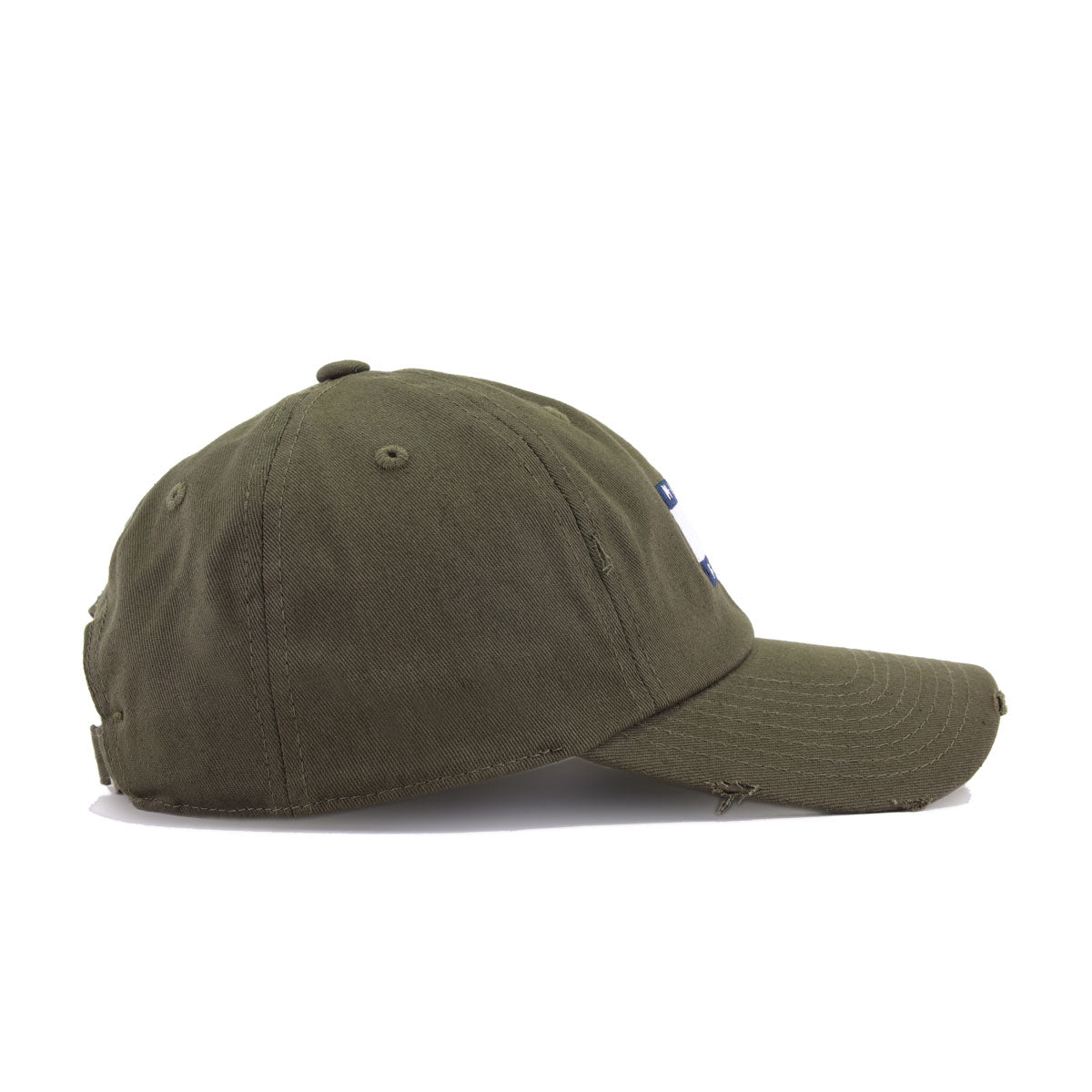 c5f0f33b7 Middle Finger Olive Field Grade Distressed Dad Hat