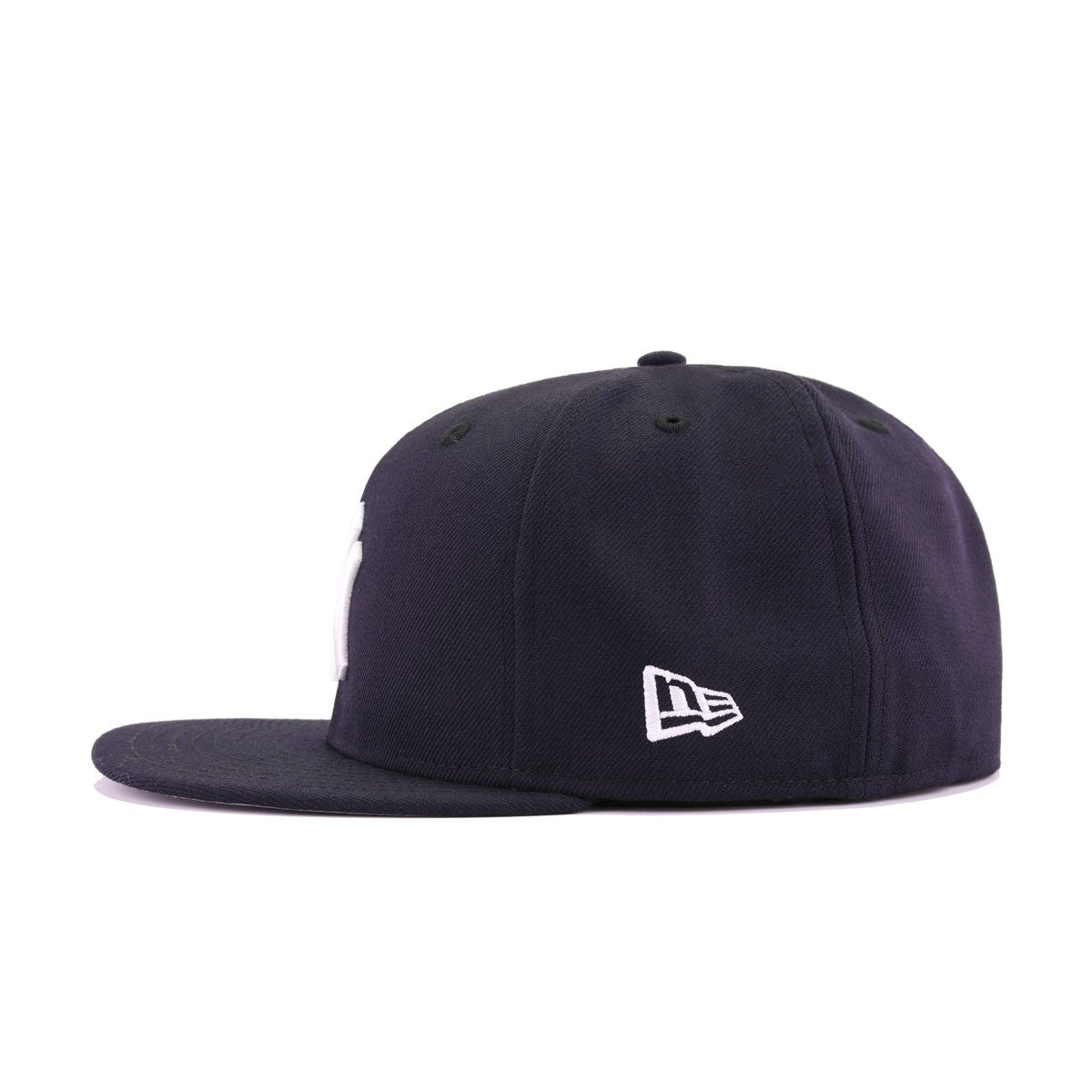 """New Era New York Yankees Fitted Hat All Navy//White///""""NYPD/"""" Side Patch"""
