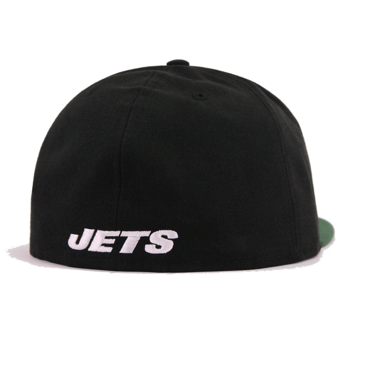 New York Jets Black Cilantro Green New Era 59Fifty Fitted