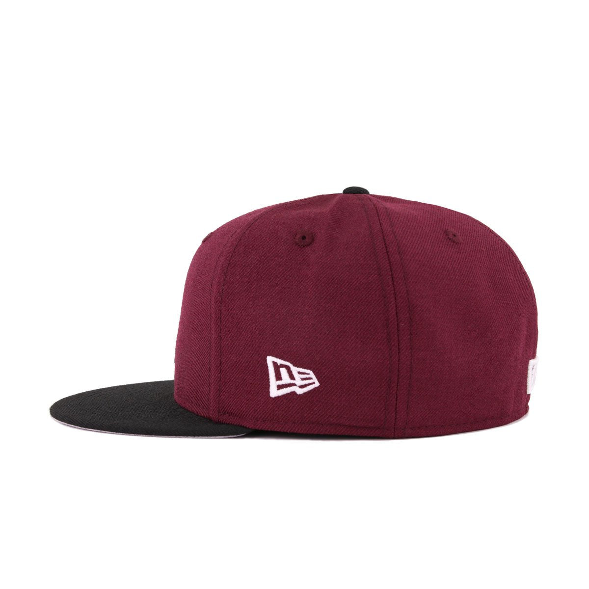 Los Angeles Dodgers Maroon Black New Era 59Fifty Fitted