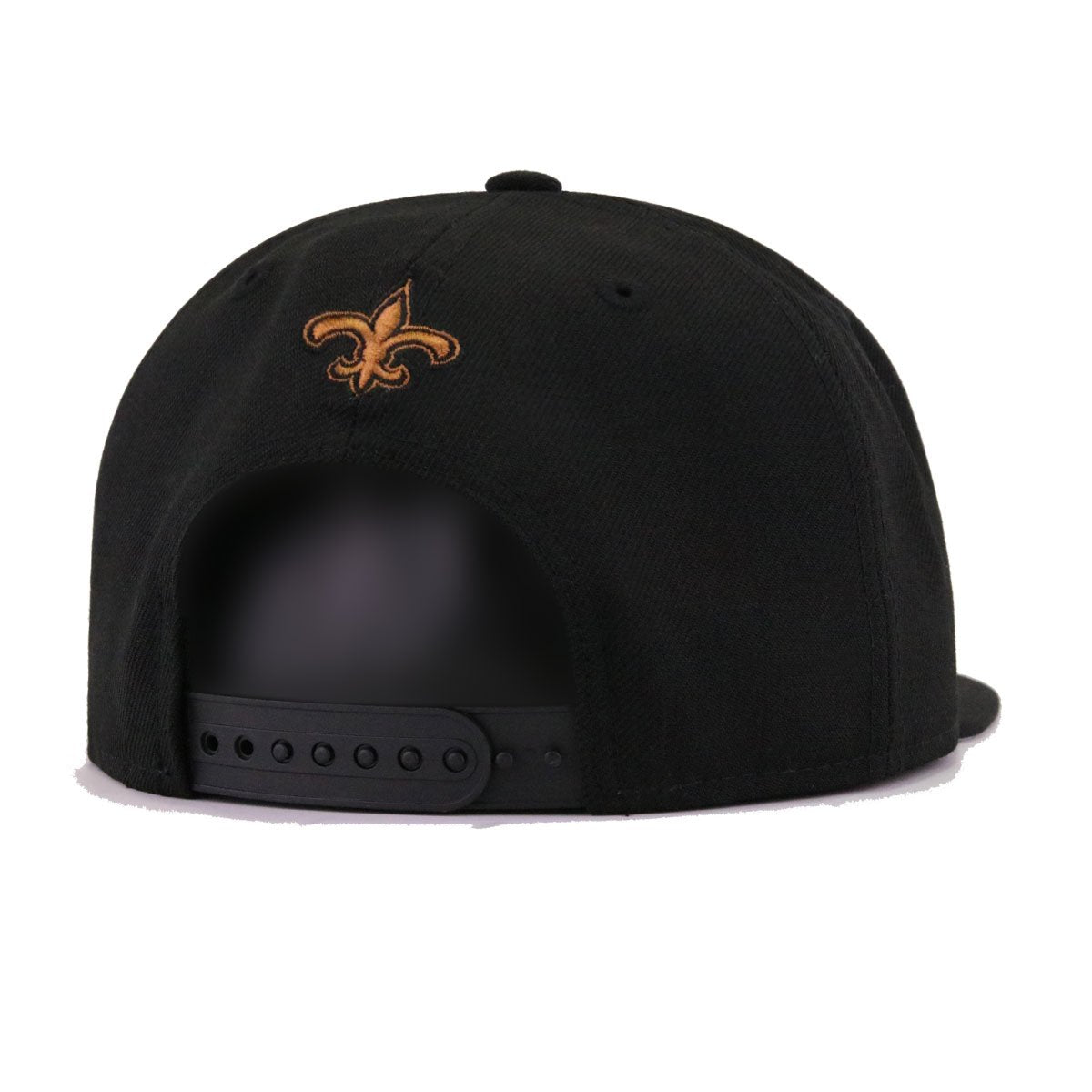 New Orleans Saints Black Dark Tan New Era 9Fifty Snapback