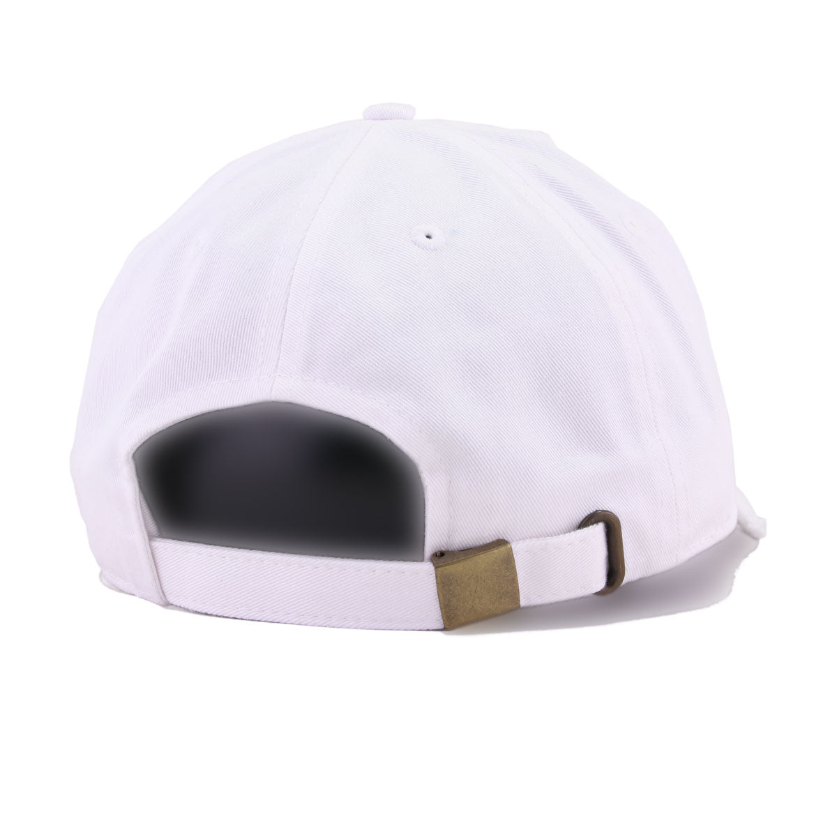 Distressed NASA Worm White KBEthos Vintage Dad Hat
