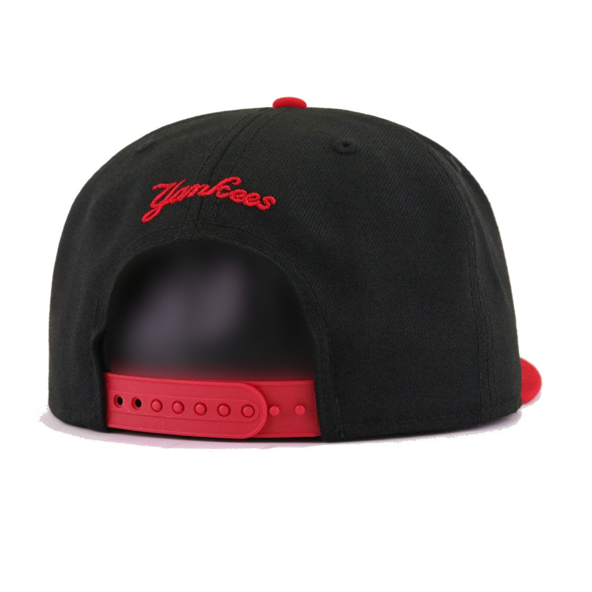 New York Yankees Black Scarlet 2 Tone New Era 9Fifty Snapback