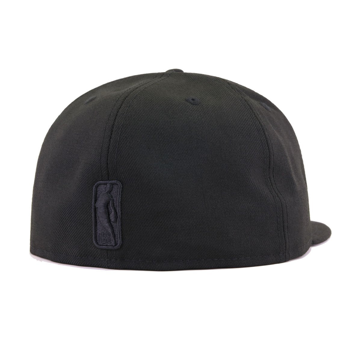 Los Angeles Lakers Black on Black New Era 59Fifty Fitted