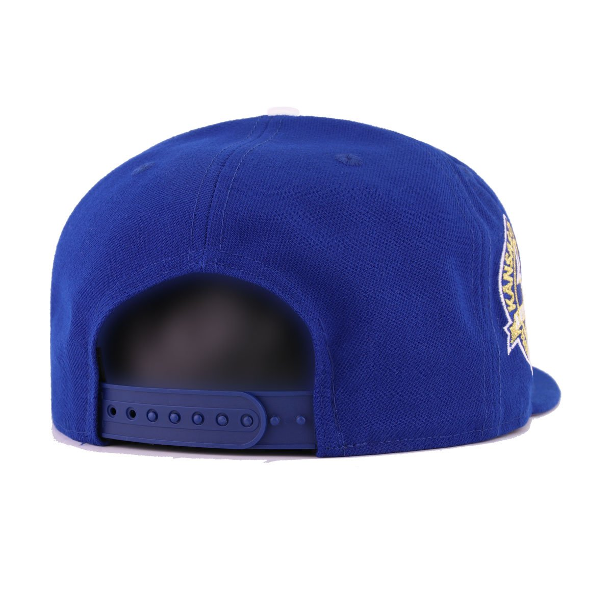 Kansas City Royals Light Royal Blue Metallic Gold Cooperstown New Era 9Fifty Snapback