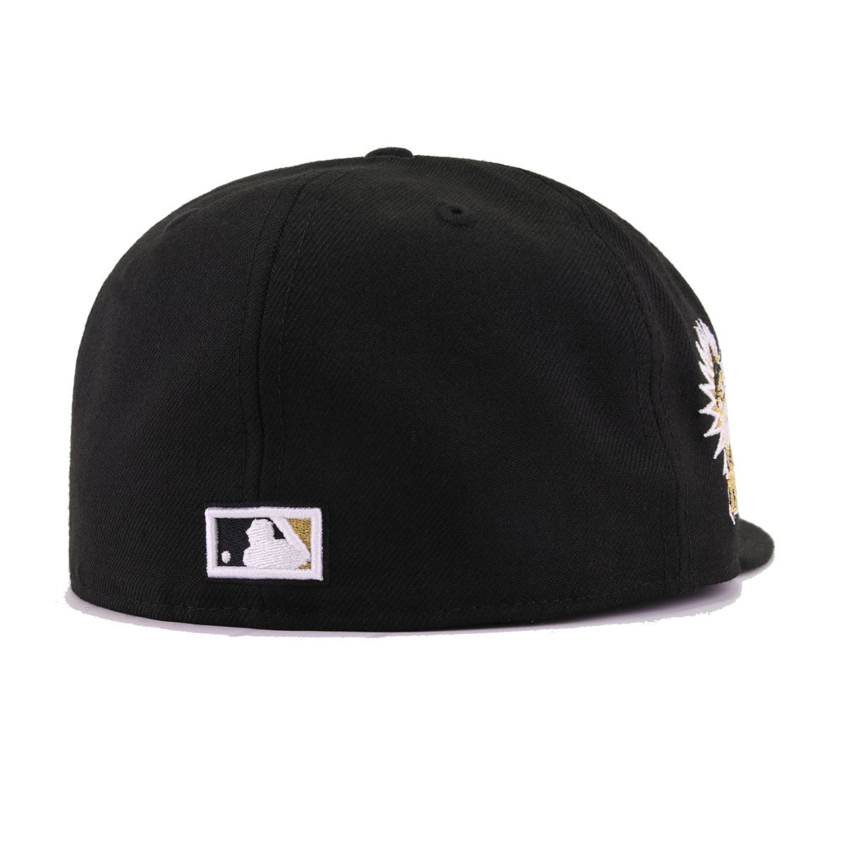 Florida Marlins Black Metallic Gold 1993 Inaugural Season New Era 59Fifty Fitted