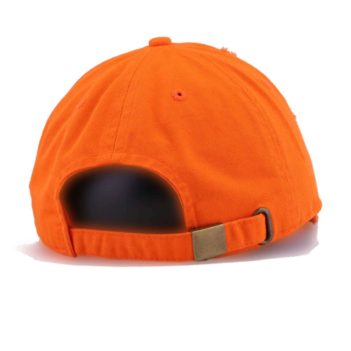 Distressed Orange KBEthos Vintage Dad Hat