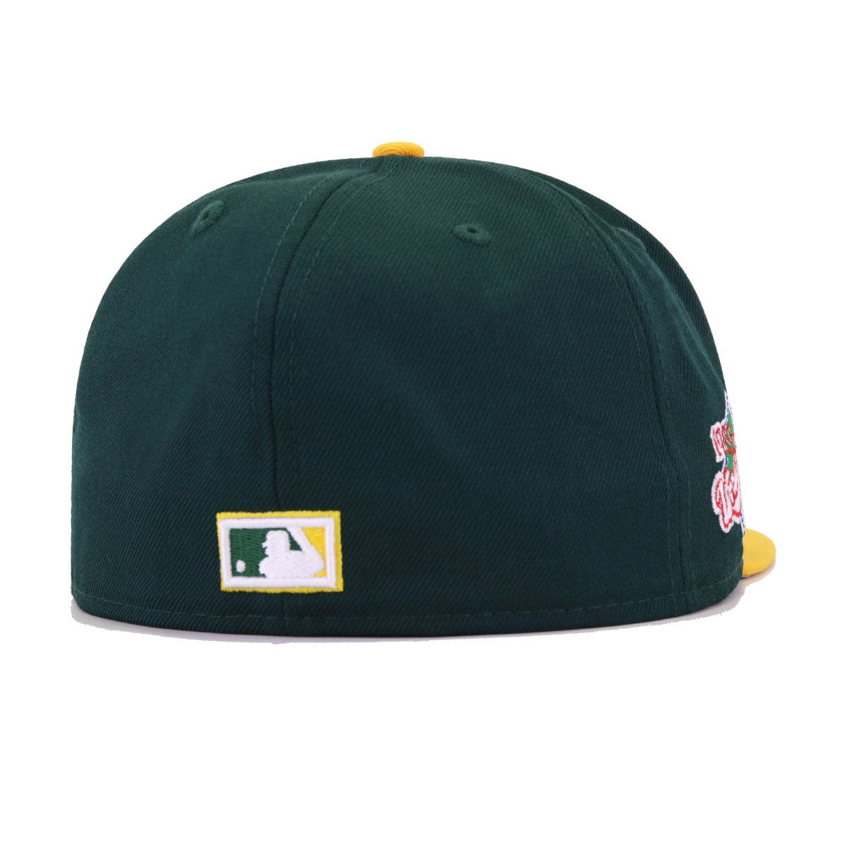 Oakland Athletics Dark Green A's Gold 1989 World Series New Era 59Fifty Fitted