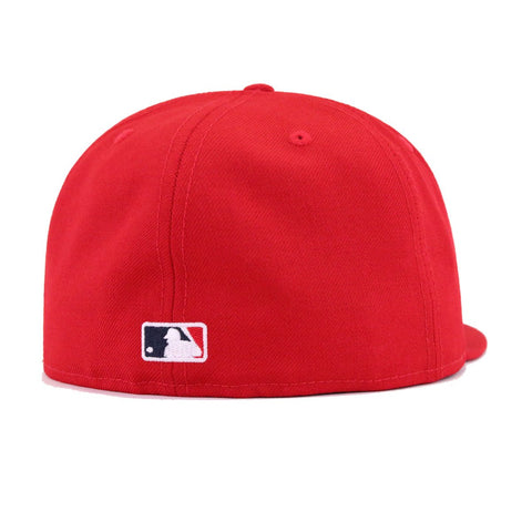 Los Angeles Angels Scarlet New Era 59Fifty Fitted b58d4de5c91c