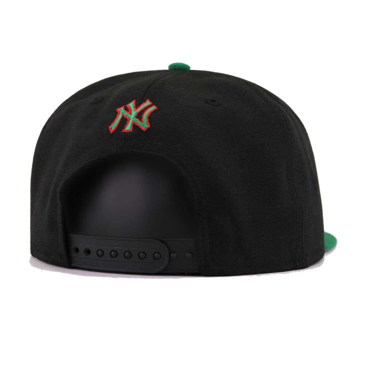 New York Yankees Black Kelly Green New Era 9Fifty Snapback