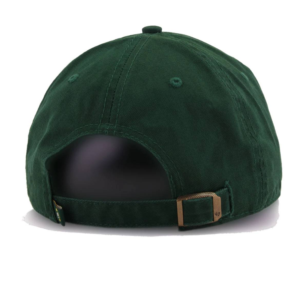 Green Bay Packers Legacy Dark Green 47 Brand Clean Up Dad Hat