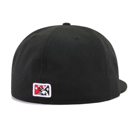 Tampa Smokers Black New Era 59Fifty Fitted