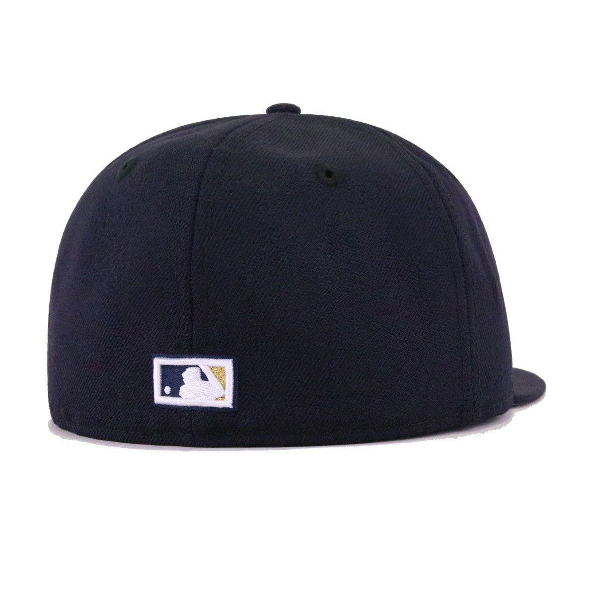 Houston Astros Navy Cooperstown New Era 59Fifty Fitted