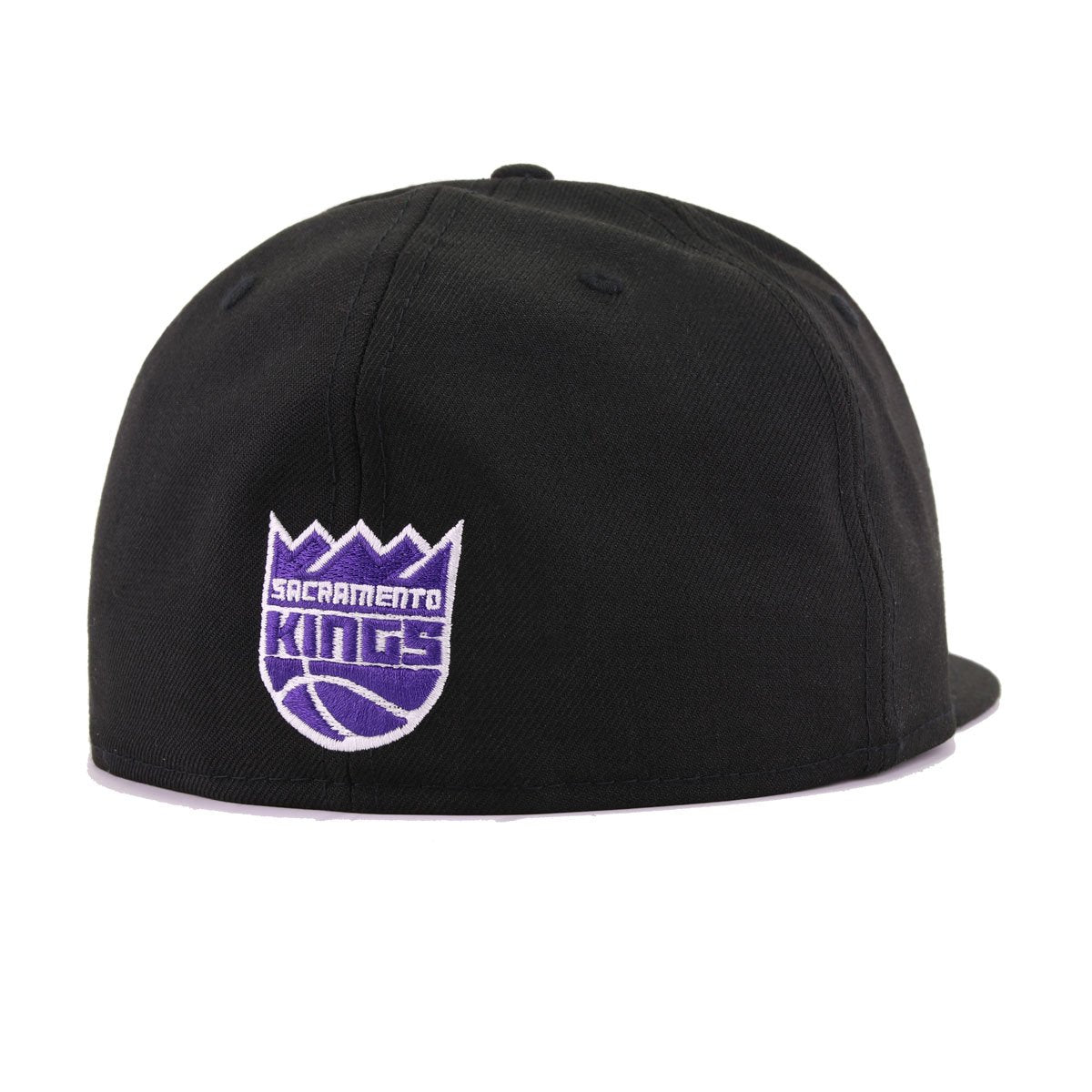 finest selection 710fd 9ea96 Sacramento Kings Black Metallic Silver Purple Maze New Era 59Fifty Fitted