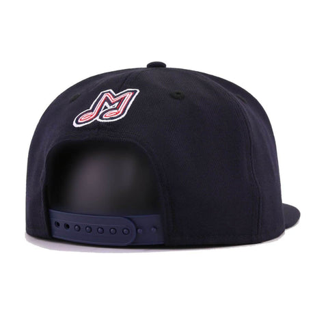 Memphis Redbirds Navy New Era 9Fifty Snapback