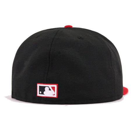 d85c96c9105 ... shop boston braves black scarlet cooperstown new era 59fifty fitted  3bd1e a9ef3