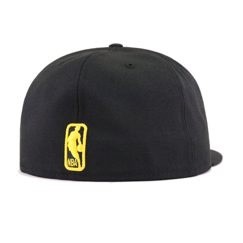 cheap for discount 97396 69fe7 Los Angeles Lakers Black Manilla City Series New Era 59Fifty Fitted