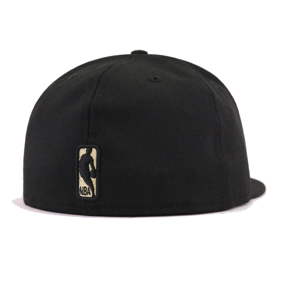 Los Angeles Lakers Black Metallic Gold New Era 59Fifty Fitted