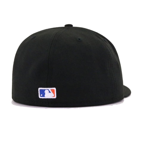 New York Mets Black Mr Met v2 New Era 59Fifty Fitted